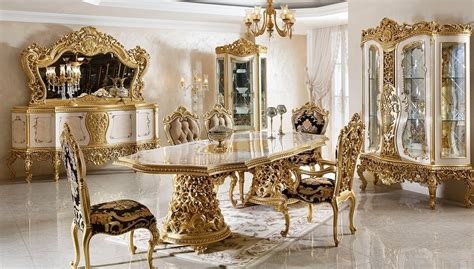 sehrazat lake carved classic dining room luxury