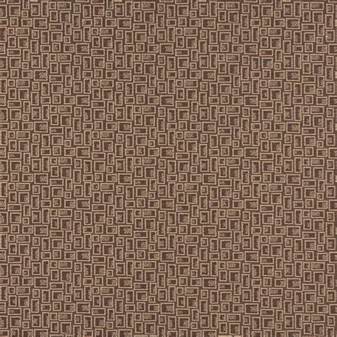 upholstery grade fabric brown geometric rectangles contract grade upholstery