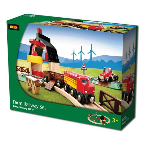 brio farm set brio farm railway set 163 35 00 hamleys for brio farm