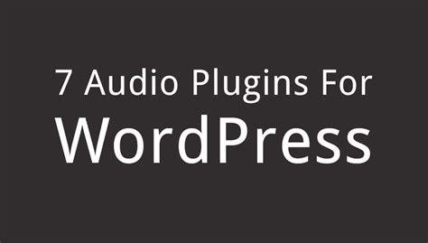 best audio plugins best audio plugins for your website