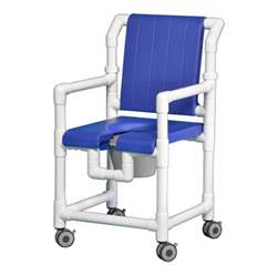 rolling open front deluxe shower chair commode scc700 b ebay