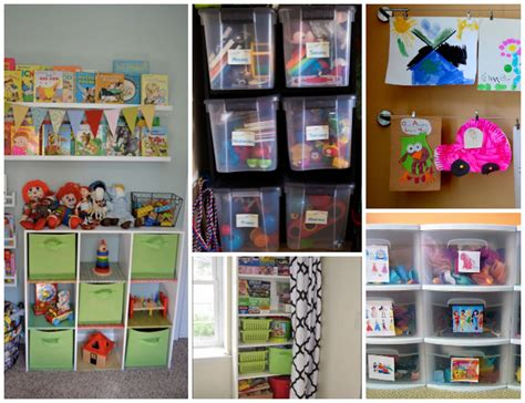 how to organize kids toys 26 ways to organize toys in small spaces