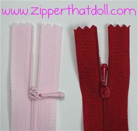 fashion doll zippers the world s catalog of ideas