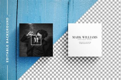 pattern mock up free business card mockups with templates by design bundles