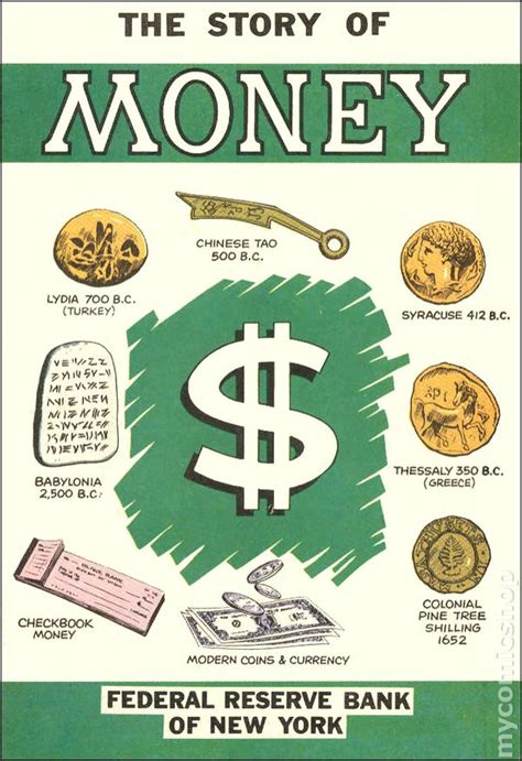 the of money books story of money 1979 comic books
