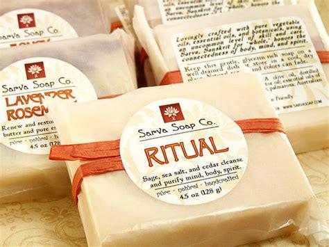 Handmade Lotions - sarva soap co bar soap labels customer ideas