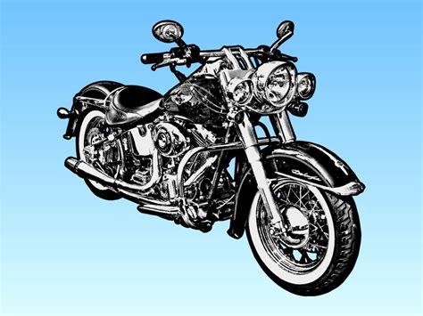 Motorrad Bilder Gratis by Harley Davidson Motorcycle Clipart Clipart Suggest