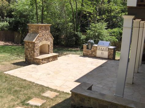 fireplaces and pits traditional patio atlanta