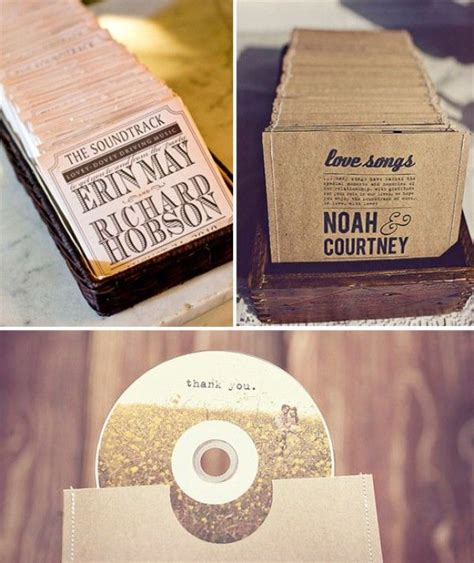 Cd Soundtrack Of Your 41 best images about wedding favor ideas on