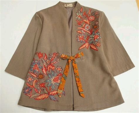 desain blazer batik 146 best images about batik on pinterest lace makeup