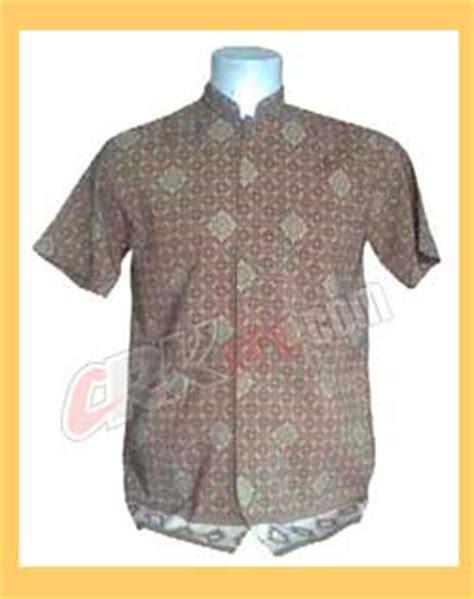 Kemeja Batik Emblem pakaian baju seragam kerja wanita pria formal dan non formal