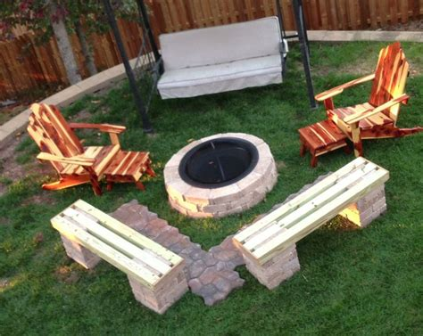 bench swing fire pit 43 best images about fire pit swings and other ideas on