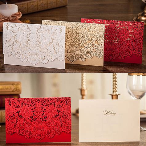 Wedding Invitation Cards Purchase by Custom Personalized Printing Wedding Invitation Cards