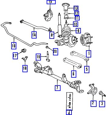 2001 jeep grand front end diagram jeep grand front suspension diagram car