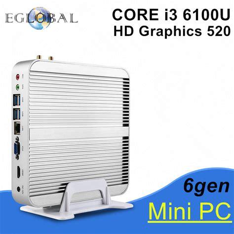 Paket Pc Cpu Rakitan Gaming Intel I3 3 10 Ghz Rx 460 2gb D5 New 6gen intel i3 6100u 2016 eglobal new skylake pc mini computer 4k htpc intel hd graphics