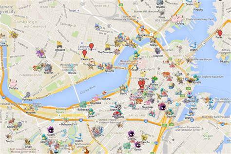 catch em    pokemon  maps digital trends
