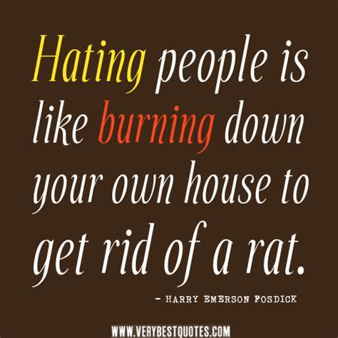 Hating Quotes