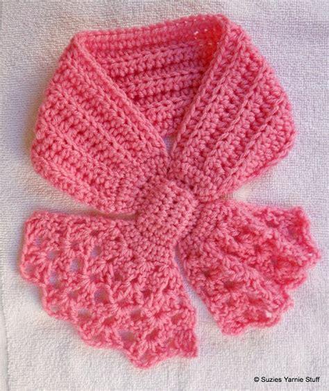 scarf pattern pinterest pretty variation on the keyhole scarf crochet