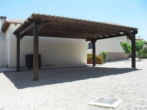 Timber Car Ports by Car Port Photos Timber Carport Cos Murcia