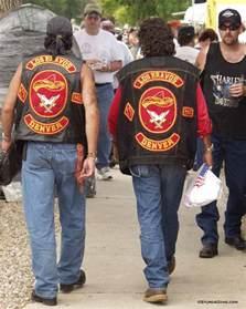 biker colors motorcycle gangs