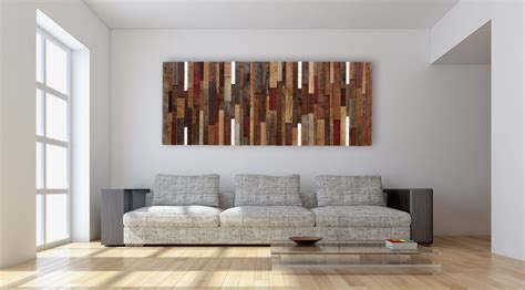 home decoration paintings wall art ideas design white background reclaimed wood