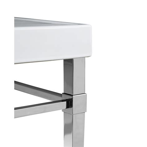 bathroom vanity with legs shop kohler polished chrome bathroom vanity legs at lowes com