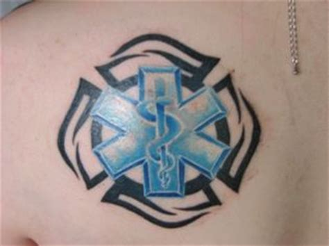 maltese cross star of life tattoo of maltese cross tattoos