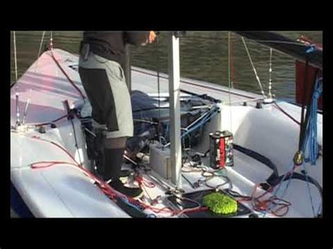 no sea em boat lift lifting the keel youtube