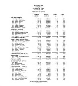 restaurant profit and loss statement template income statement templates 21 free word excel pdf