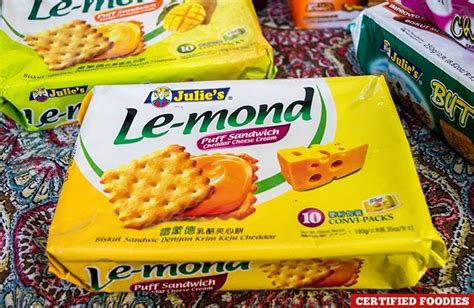 Julie S Le Mond Biskuit Lemon julie s biscuits baked with from malaysia to the