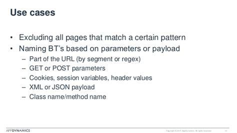 exclude pattern web xml appdynamics advanced bt configuration