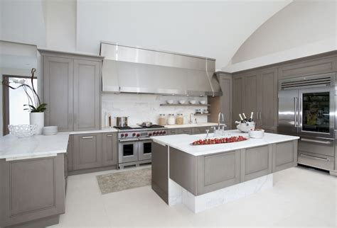 kitchen cabinets off white interior design grey kitchen cabinets and how to pull them off traba homes