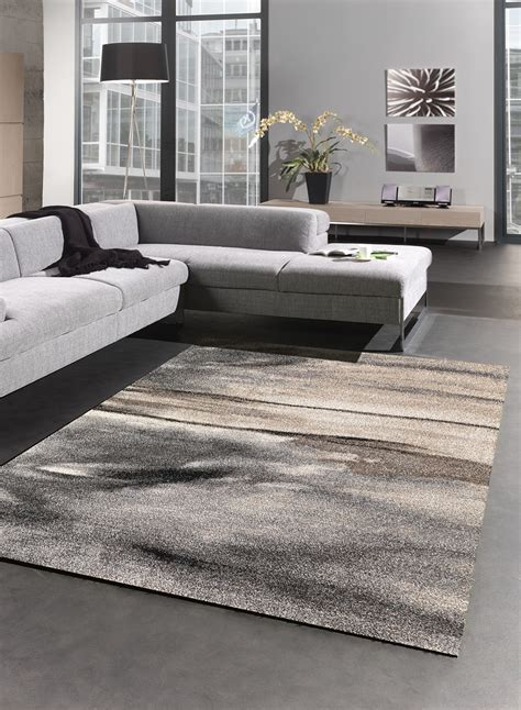 Tapis Dans Salon by Tapis Salon Moderne 01 Gris