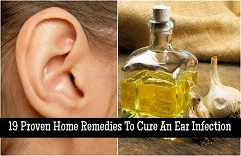 ear infection remedy 19 proven home remedies to cure an ear infection