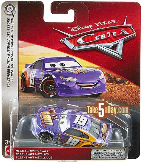 Diecast Disney Cars Mini Racer Mattel Metallic Lightning Mcqueen 28 mattel disney pixar cars 3 metallic cars 2018 preview