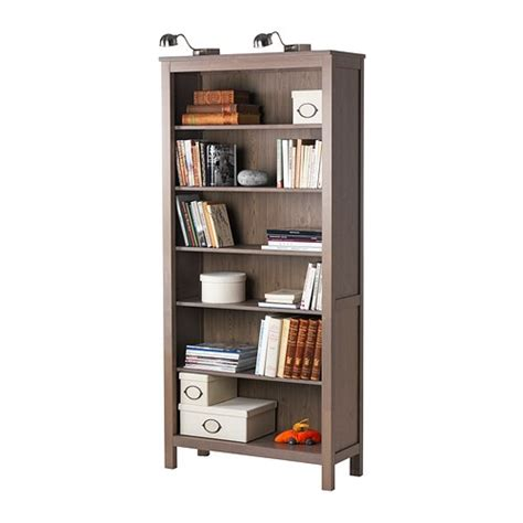 hemnes bookcase ikea solid wood gives a feel 4
