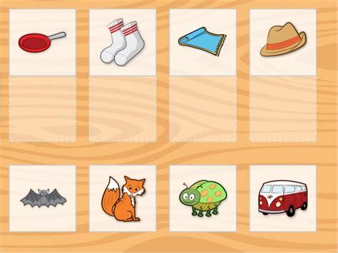 online tutorial kindergarten rhyme time matching game game education com