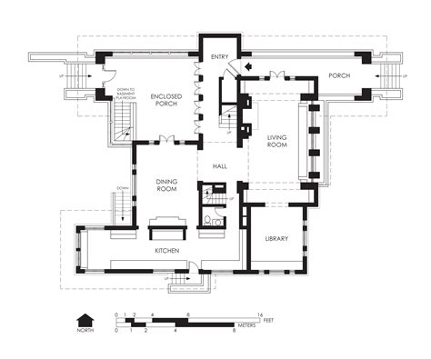 types of house plans file hills decaro house first floor plan jpg wikipedia