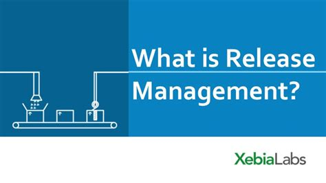 manage assets for the delivery of a release release management
