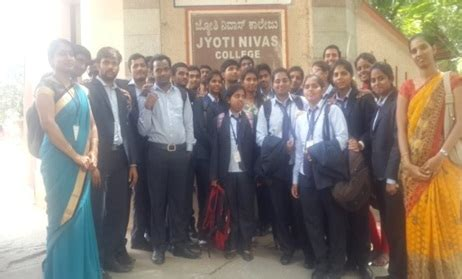 Jyothi Nivas College Mba by Mba Department Activities K S School Of Engineering And