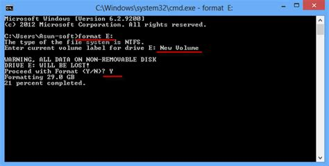 format hard disk windows 7 from command prompt how to format a hard drive on windows 8
