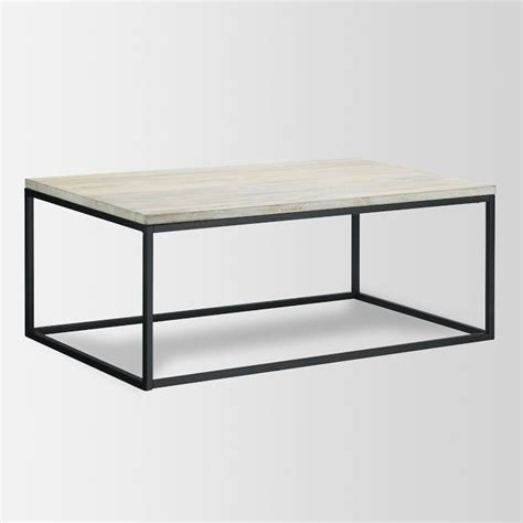 copy cat chic west elm box frame coffee table