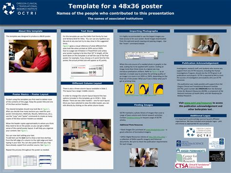 scientific poster ppt templates powerpoint powerpoint poster templates 24x36 image collections
