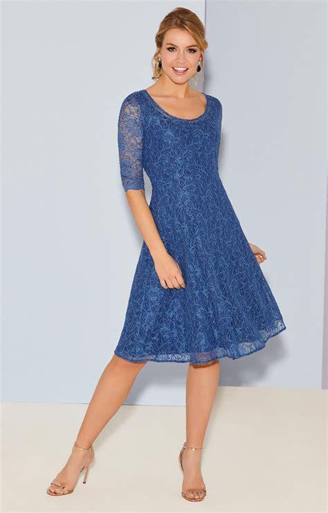 Arabella Brautmode by Arabella Kleid Kurz In Riviera Blue Hochzeitskleider