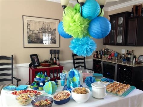 Baby Shower The Sea Theme by Theme Baby Shower Babyshower Ideas