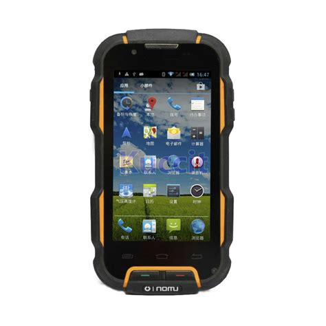 Rugged Waterproof Phone by Ip68 Rugged Outdoor Shockproof Smartphone Android
