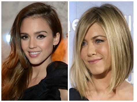 different bang styles with centre part hairstyles that disguise roots women hairstyles