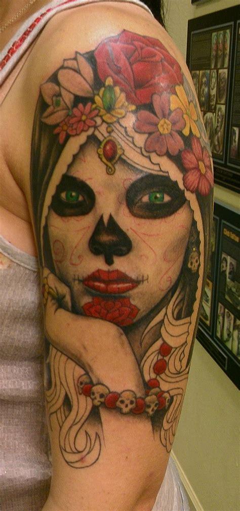 katrina tattoo wip tattoos