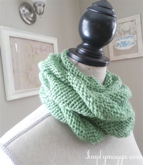 infinity scarf knitting pattern beginners infinity scarf knitting pattern for beginners