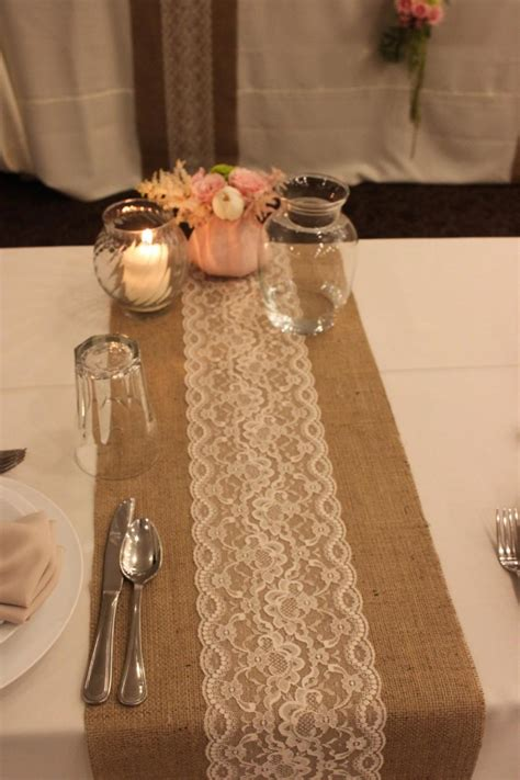 burlap table runners with lace for sale sale 12 ft 12 x 144 burlap lace table runner wedding